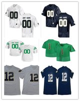 Wholesale notre dame jerseys online - Custom Notre Dame Fighting Irish  College Football Stitched Any Name e095298e3