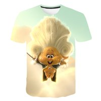 Children's Wear Fairy Forest Series Youth Print Short Sleeve 3D Harajuku Cartoon T-shirt Summer Promotion Fashion Parent-child Wear