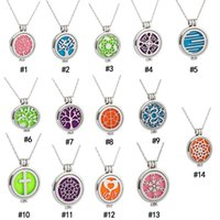 Glow in the Dark Essential Oil Diffuser Necklace Stainless s...