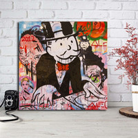 Monopolyingly Wallpapers Canvas Painting Print Bedroom Home ...