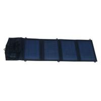 Mono 14W 5V Dual USB 2A dobrável painel solar portátil carregador solar para bateria de banco de potência de telefones inteligentes