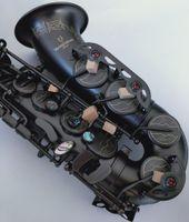 أفضل نوعية Yanazawa A-991 E شقة ألتو ساكسفون آلات موسيقية الفنية الأسود ساكسفون مع حالة الترقيات شحن مجاني