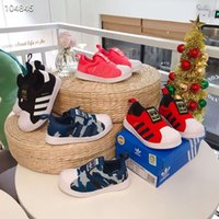 fashion Brand ADDS Shell Head boy girls Sneakers Superstar bambini Scarpe per bambini new stan Athletic Outdoor shoes