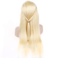 Frente del cordón largo Rubio 13x6 miel peluca de cabello humano 250% Densidad brasileña del frente del cordón de la peluca para las mujeres del pelo de Remy rayita natural