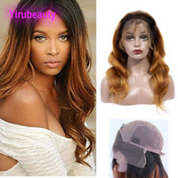 Brazilian Virgin Hair Lace Front Wig 1B 30 Ombre Human Hair ...