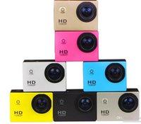 Mini Aksiyon Dijital Kamera 1080 P HD Kamera Su Geçirmez 30 M Spor DV Kamera Siyah / Beyaz / Gümüş / Kırmızı / Sarı / Altın / Mavi