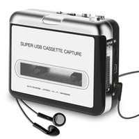 USB 2. 0 MP3 Recorder & Player Tape To PC Super Cassette To M...