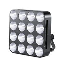 MFL Pro High Power COB LED Blinder Light Matrix 16 * 30W RGB 3In1 Light Stage Light Dla Club Disco Party