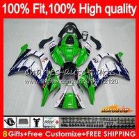 Injection pour KAWASAKI ZX 10 R ZX1000 C ZX10R 11 12 13 14 15 HC.AA ZX 10R 1000CC ZX10R 2011 2012 2013 2014 2015 OEM Carénage bleu vert