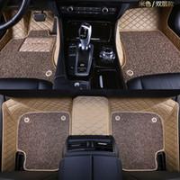 Lunda 자동차 바닥 매트 Subaru XV BRZ Impresa 포레스터 레거시 아웃백 트라이 베카 더블 3D 레이어 모든 날씨 카펫 바닥 라이너