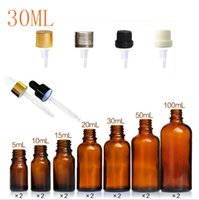 30ml Dropper Essential Oil Perfume Pipette Bottles Empty amb...