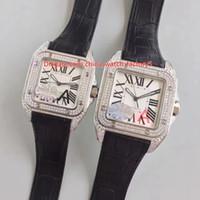 Melhor Qualidade HBBV6 Maker Lover 38mm 33mm San100 Diamante Completo Bezel Asia Coma 2824 Movimento Automático Senhoras Assista a Relógios Mens das Mulheres