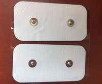 1000PCS TENS PADS DUAL SNAP PRESTATIES ELKTRODES 50 x 100 mm voor COMPEX SP 5.0 6.0 8.0 Draadloze elektrische spierstimulator