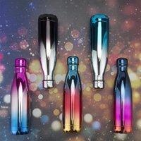 UV color 500ml Cola en forma de botella con aislamiento de doble pared al vacío botella de acero inoxidable Agua Deporte termo botella de Coca Cola Vasos CCA11748 10pcs