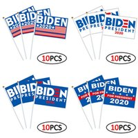 L'America Joe Biden Wavig bandiere per il presidente Election 2020 Banner 14 * 21 cm Bandiera vendita calda blu e bianco 12lj C2