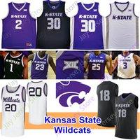 Kansas State Wildcats Basketbol Jersey NCAA Koleji Sneed Diarra Makol Mawien Levi Stockard III Gordon Murphy Richmond Blackman Beasley