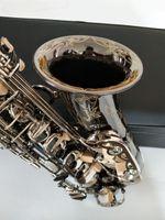 New Deutschland JK SX90R Keilwerth Saxophone Alto Schwarz Neusilberlegierung Alto Sax Messing Musikinstrument mit Fall Mundstück Copy