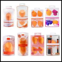 Make-up Ei Schwamm Set Beauty Foundation Mischschwamm, für Flüssigkeiten, Cremes und Puder, mehrfarbige Make-up Schwämme