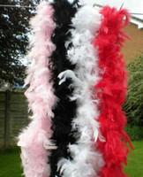 Боа из перьев 200 см бурлеска танцовщица курица ночь необычные платья танец костюм аксессуар свадебные украшения DIY 17 цветов