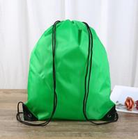 exterior cordão impermeável basquete mochila de acampamento ciclismo viajar sacolas da escola mochila portáteis à prova de poeira pacote de presente
