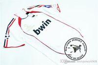 Envío gratis 2007 campeón de la liga final kaka maldini seedorf ronaldo pirlo inzighi camiseta de fútbol