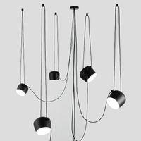 Пользовательские Современные Spider Промышленные Подвесные Светильники для Дайвинг / Рестораны Кухня Подвесные Светильники E27 Светильники LED Подвесной Светильник