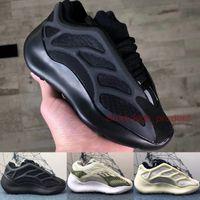 Los zapatos corrientes de la marca de 700 V3 Negro Alvah tamaño de los cabritos 2020 Kanye West Azael niños los zapatos blancos esqueleto Niños Niñas Bebés Diseño zapatillas de deporte 26-35