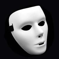Moda Cosplay Parti Yetişkin Tam Yüz Maskeleri maske Beyaz Grimace Sokak Hayalet Dans Maskeler Dansçı Maskeler Hip-hop VT1702 Maskesi