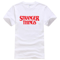 Stranger Things Casual Men T- shirt 2019 Summer Short Sleeve ...