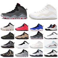 Moda 10s 10 zapatillas de baloncesto para hombre blanca Hombres Orlando Desierto Camo Camo venta caliente al aire libre cómodos recipientes calzado deportivo