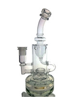 facebook hot 2020 Klein glass bongs water Torus bong recycle...