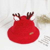 3-6Y Weihnachten Geweih Hüte Baby-Kind-Jungen-Mädchen-Milu Geweih Caps Xmas Party Deer Hüte Party-Hut