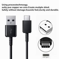 삼성 갤럭시 노트 10 S10 S10E S10P EP-DG970BBE에 대한 OEM 주 10 S10의 USB 타입 C 케이블 1.2M 2A의 FAST 충전기 케이블