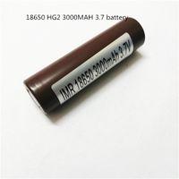 100% высокое качество 18650 батарея HG2 3000 мАч 30A перезаряжаемые литиевые батареи для LG Cells Fit Ecigs Vaporizer Vape box mod