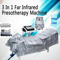 3 в 1 аппаратуре электростимуляции дренажа лимфы машины EMS десятков presoterapia сауны длинноволновой части инфракрасной области тонкой