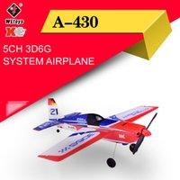 WLToys XK A430 x4 Sender RC-Ebene 2,4g 5ch Brushless 3D6G-System-Flugzeug-Flugzeug-Kompatibel mit Futaba S-FHSS Aircraft RC Segelflugzeug Y200413