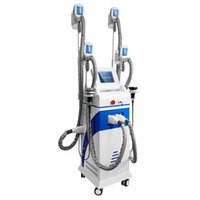 4 Köpfe Kryotherapie Abnehmen Fett Einfrieren HF-Laser-Liposuktionskörper-Sculpting Lipofreeze-Verlust Kryo Abnehmen Maschine CE / DHL