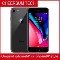 Customzied iPhone 6 في 8 Style Mobielephone 4.7 5.5 بوصة الأصلي LCD 64GB 128GB iPhone 6 تم تجديده في iPhone 8 House Cellplone