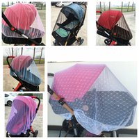 Baby Stroller Pushchair Mosquito Insect Shield Net Infants Protection Mesh Stroller Accessories Cart Mosquito Net VT0146