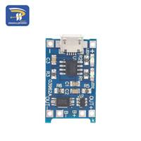Freeshipping 50pcs / lote 1a 18650 Lithium Battery Protection Board Módulo de carga TP4056 con protección Un módulo de placa TC4056
