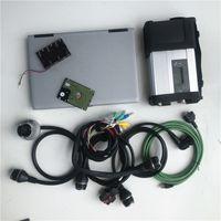 MB Yıldız C5 araba Diagnosic tarayıcı eklenti en yeni yumuşak dağıtan 2020.06V HDD Laptop D630 4G MB Araç Teşhis aracı SD bağlantı tarayıcı