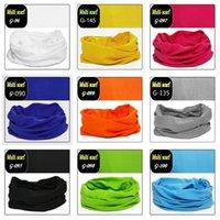 A todo color al aire libre sin fisuras mágico Pañuelo para hombres y mujeres Ciclismo Pañuelo Pañuelo Máscaras y T3I5872