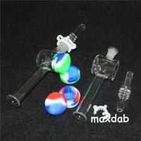 Narghilè al quarzo Banger Mini nettare Collector con punte del filtro Tester Tubo di paglia Tubi per acqua di vetro Accessori per fumare
