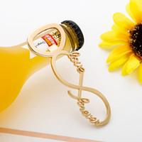 Kreative Love8 Shaped Metall Bier Flaschenöffner Hochzeit Souvenirs Fahrrad-Shaped Flaschenöffner Geburtstag Jahrestag Geschenk für Gäste RRA2899