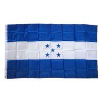 Honduras 5 Five Stars Bayrak Banner 3x5 ft Ulus Ülke Bayrakları ile Honduras Bayrak 90x150cm Mavi Beyaz Bayrak, ücretsiz kargo