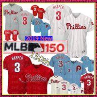 8fe8535da 3 Bryce Harper 150th Jersey Philadelphia Mens Phillies Majestic Cool Base  FlexBase Retro Baseball Jerseys 7 Maikel Franco 10