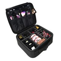 Kobiety Torba Kosmetyczna Profesjonalny kosmetyczny Brush Makeup Torba Case Wodoodporna Makijaż Organizator Torby do przechowywania Podróż Walizka