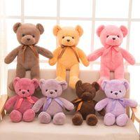 테디 베어 아기 봉제 장난감 선물 12 박제 동물 봉제 부드러운 곰 인형 인형 아이들 작은 테디 베어 아이 wl1184