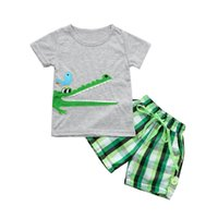summer 0- 7 Y Boys Outfits Toddler Kids Baby Boys Embroidery ...