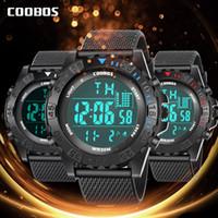 marca deportiva tesoros fresco 30M reloj electrónico resistente al agua tendencia luminosa LED estudiante multifunción reloj inteligente de los hombres